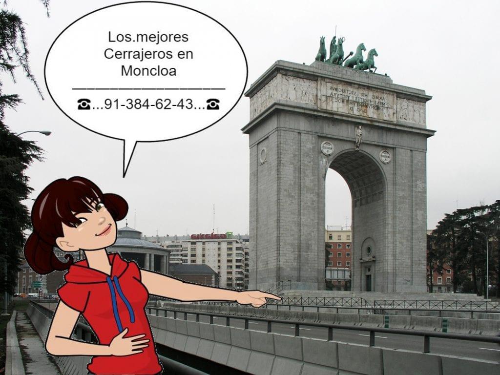 Cerrajeros en Moncloa